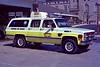 Hershey 1985 Chevrolet Suburban medic unit