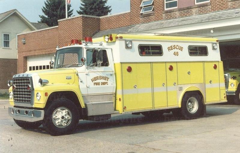 Hershey 1976 Ford/Swab rescue