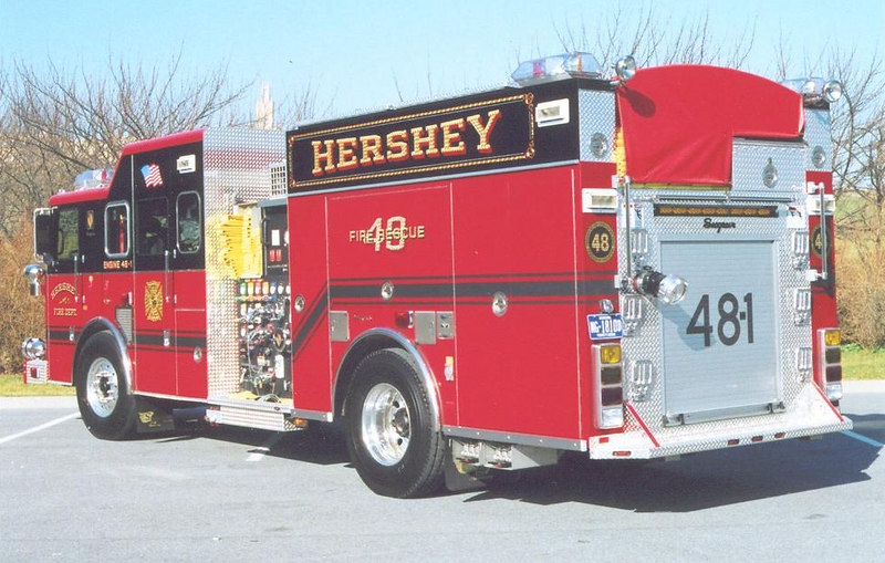 Hershey Seagrave rear detail