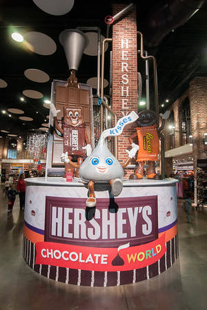 Hershey's Chocolate World Attraction in Hershey, PA