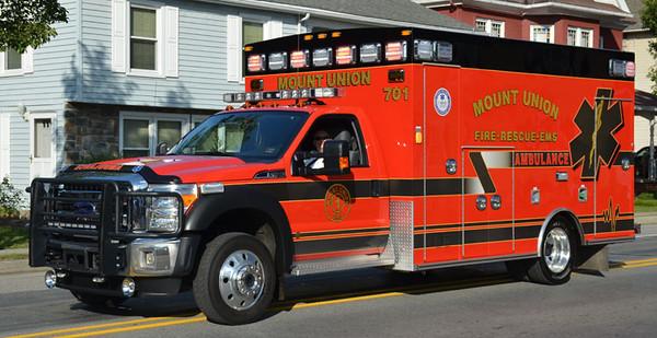 """""""Ambulance 701"""""""