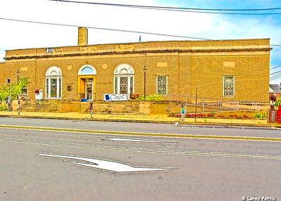 Indiana Post Office- (Item-2135)