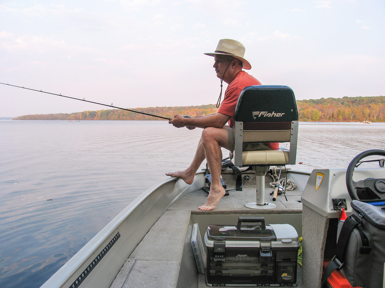 Lake Nockamixon - October 2007