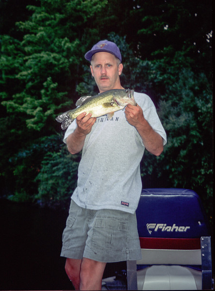 Largemouth Bass, Lake Nockamixon - July 2002