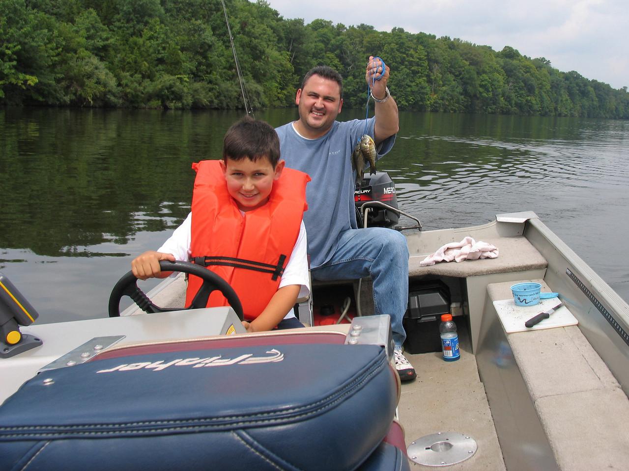 Cruising the lake