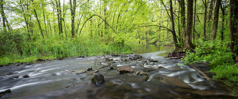 Dimple Creek near Lake Towhee - May 2013