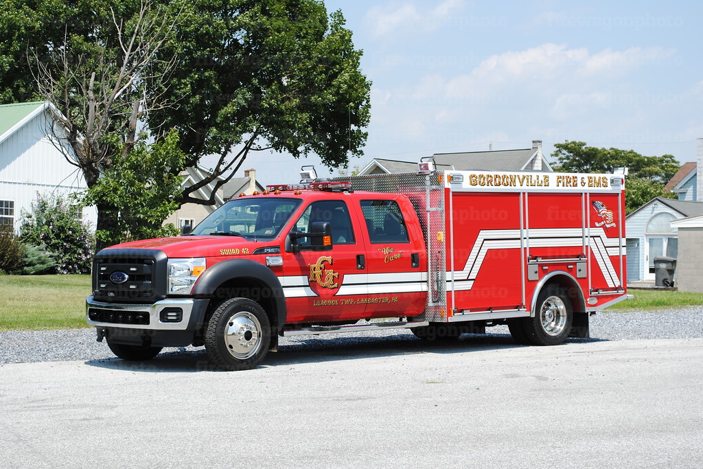 Gordonville Squad 43: 2014 Ford F550/Marco