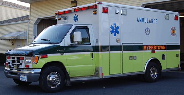 """Former Ambulance 141"""