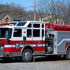 United Fire Company<br /> Lewistown, PA<br /> X-Engine 11<br /> 2002 KME 1500/750<br /> Photo by: Alex M. Poitevien Jr.