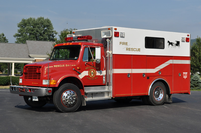 Rescue 24-1<br /> 1991 International 4900/4-Guys