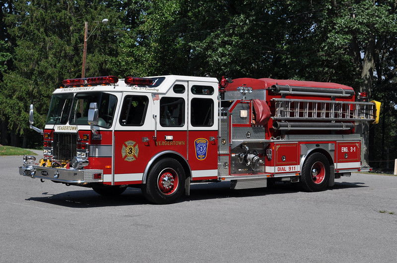 Engine 3-1<br /> 2000 E-One Cyclone II 1250/1000
