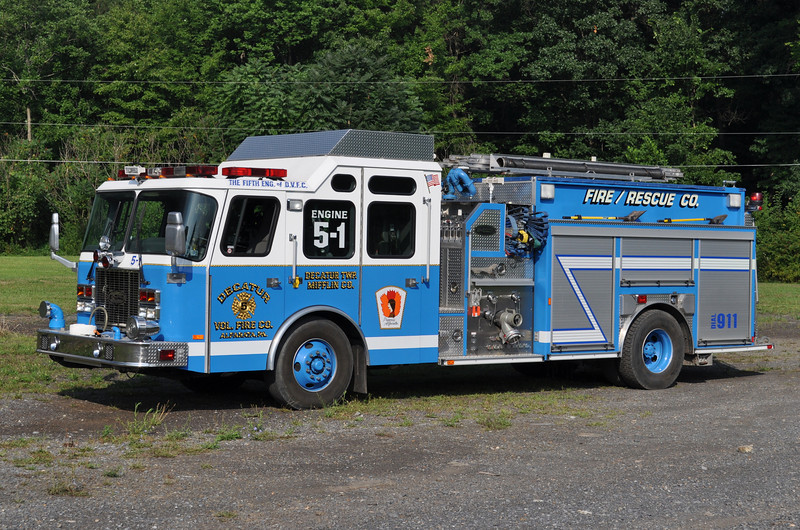 Engine 5-1<br /> 2001 E-One Cyclone II 1500/1000