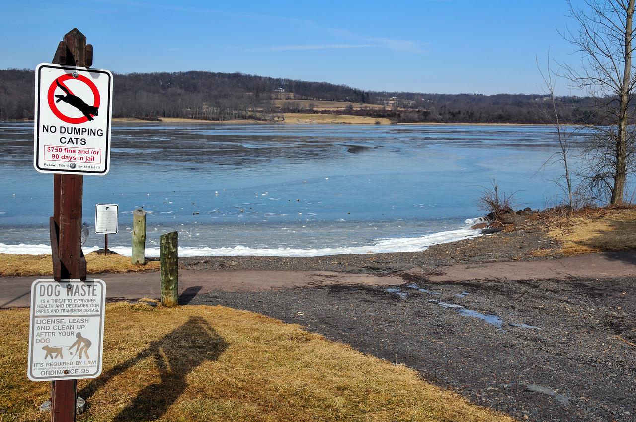 Peace Valley Lake - February 2010