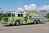 Hazle Township Tower 107: 2009 Seagrave Aerialscope 95'