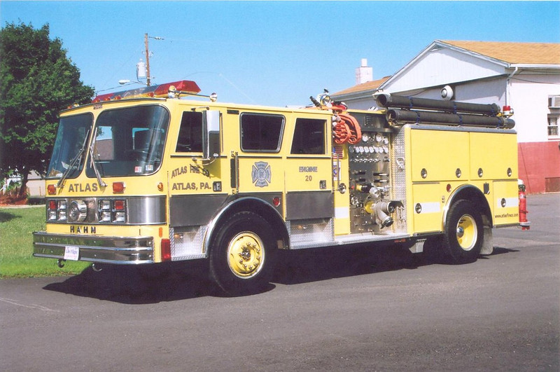 Atlas (x)Engine 20: 1988 Hahn 1250/500<br /> x-West Lawn Fire Co. of Spring Township, PA