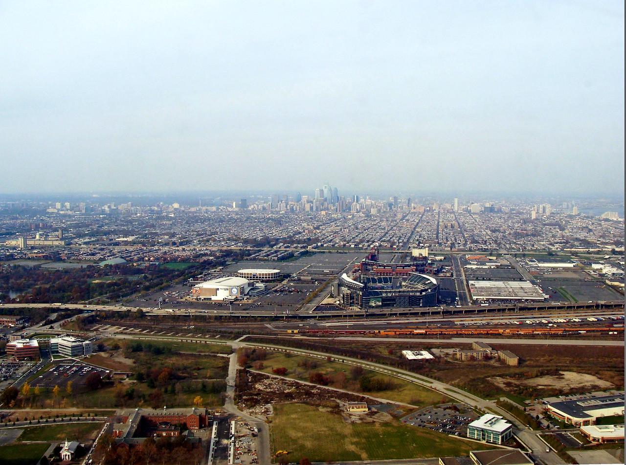 Philadelphia and the Eagles Stadium