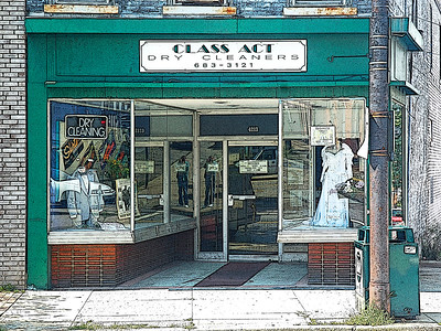 Class Act Dry Cleaners- (Item-0168)