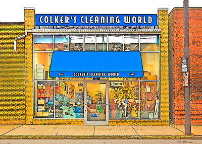 Colker's Cleaning World- (Item-1227)