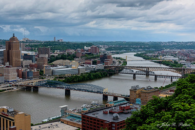 Monongahela River bridges