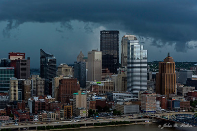 Pittsburgh skyline from Grandview Avenue