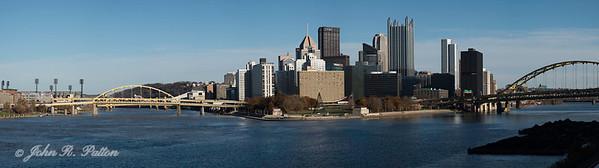 Pittsburgh skyline pano