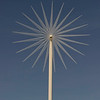 Wind turbine flower