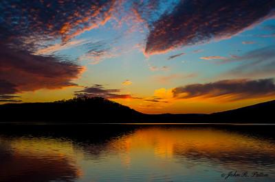 Canoe Creek sunset