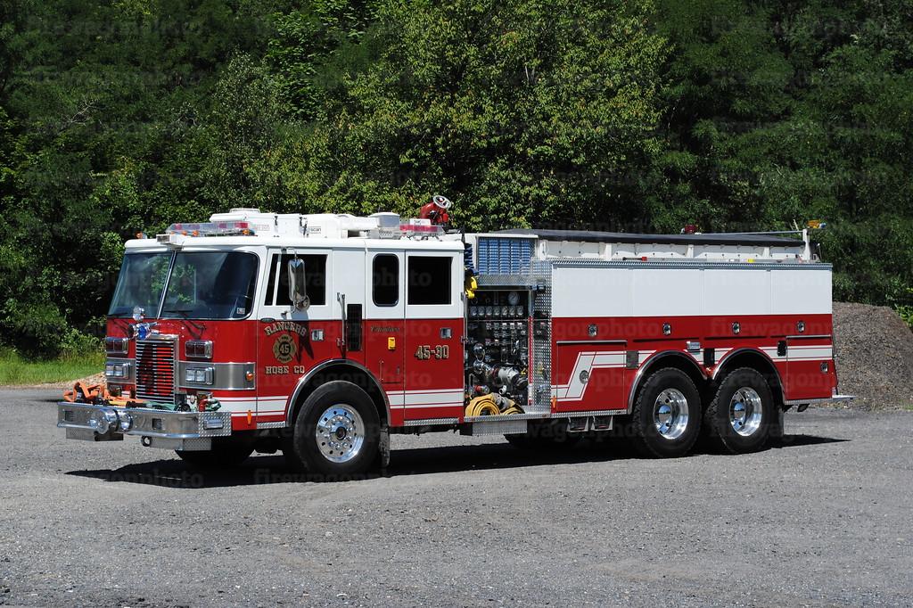 Girardville - Rangers Hose Co. Tanker 4580:<br /> 1990 Pierce Lance 1250/2000/40F<br /> x-Hollywood, Maryland & Martins Corner, PA