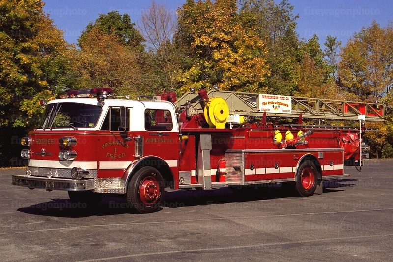 Ashland - Washington Fire Co.: 1959/ 1994 American LaFrance 85'