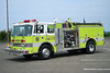 Gilberton - Continental Fire Co. Engine 4415: 1985 Pierce Dash 1000/750<br /> x-US Navy