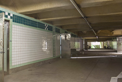 Abandoned Subway Concourse