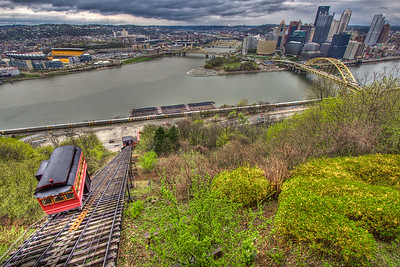 Duquesne Incline, Pittsburgh Pennsylvania