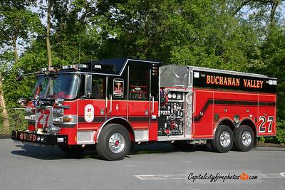 Buchanan Valley Engine/Tanker 27: 2008 Pierce Arrow XT 2000/2000