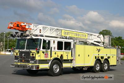 Gettysburg Truck 1: 2007 Seagrave Marauder II 104'