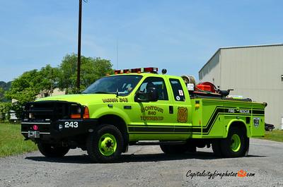 Montour Township Brush 243: 2001 Ford F-350/Reading PP/250