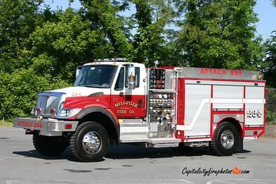 Millville Attack 234: 2008 International/E-One 1250/300