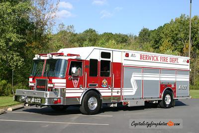 Berwick Rescue 122: 2010 KME Predator