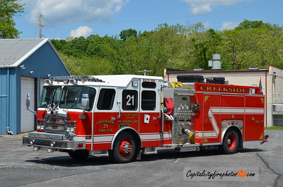 Creekside Engine 2-21: 2009 E-One Typhoon 1500/780