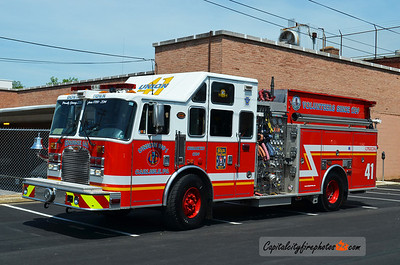 Carlisle (Union Fire Co.) X-Engine 1-41: 2003 KME 2000/800/15A/20B   (*** Sold to Slickville Fire Co., Snyder Co., PA ***)