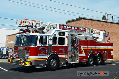 Carlisle (Union Fire Co.) X-Engine 2-41: 2004 KME 1750/70020A/30B 75'   (*** Sold to Kreamer Fire Co., Snyder Co., PA in 2016 ***)