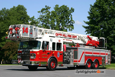 Camp Hill Truck 14: 2007 Spartan/Crimson 2000/300 100'