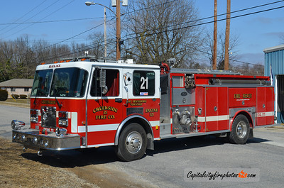 Creekside Engine 1-21: 1992 Spartan/Allegheny 1250/1000