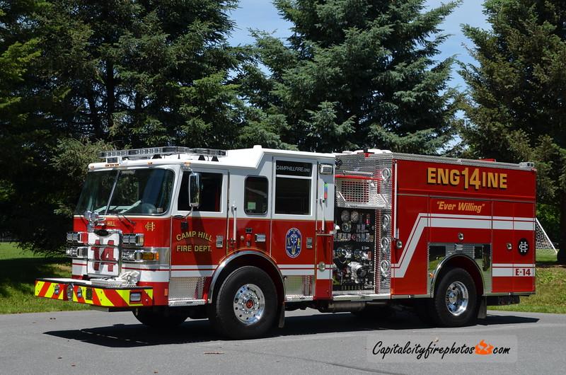 Camp Hill Engine 14: 2016 Pierce Arrow XT 1500/750/20