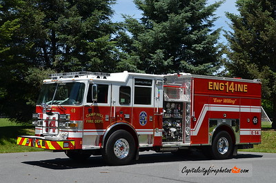 Camp Hill Engine 14: 2016 Pierce Arrow XT 1500/750/20