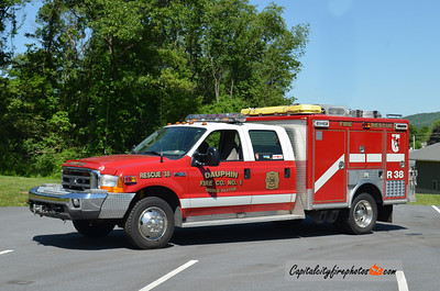 Dauphin-Middle Paxton Rescue 38: 1999 Ford F-550/E-One