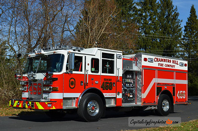 Chambers Hill Fire Co. (Swatara Township) Engine 456: 2013 Pierce Arrow XT 1500/750