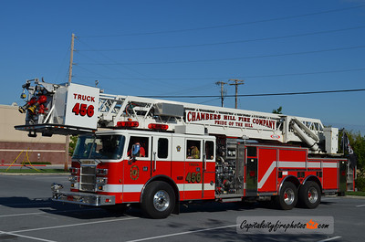 Chambers Hill Fire Co. (Swatara Township) X-Truck 456: 2001 Pierce Lance 2000/300 100' (** sold to Effingham Co., GA in 2017 **)