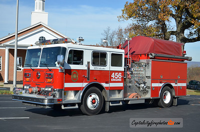 Chambers Hill Fire Co. (Swatara Township) X-Engine 456: 1991 Seagrave 1500/750 (X-Swatara Township Reserve Engine 91, sold to Highspire, PA in 2020)