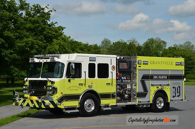 Grantville Fire., East Hanover Township Engine 39: 2018 Spartan/4 Guys 2000/1000