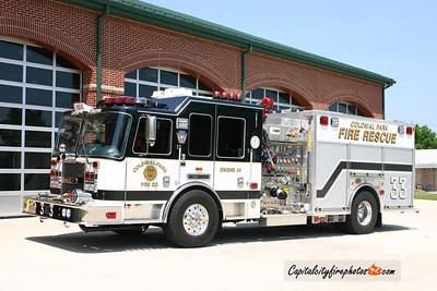 Colonial Park Engine 33: 2008 KME Predator 1500/750